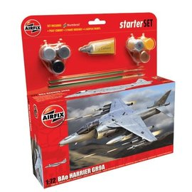 AIRFIX AIR A55300 1/72 Medium Starter Set BAe Harrier GR9A
