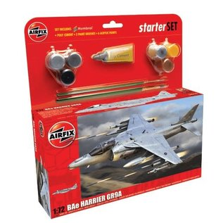AIRFIX AIR A55300 1/72 Medium Starter Set BAe Harrier GR9A