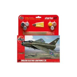 AIRFIX AIR A55305 ENGLISH ELECTRIC LIGHTNING F.2A STARTER SET