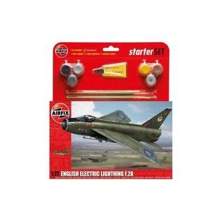 AIRFIX AIR A55305 ENGLISH ELECTRIC LIGHTNING F.2A STARTER SET