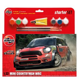 AIRFIX AIR A55304 Mini Countryman WRC STARTER SET