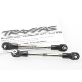 TRAXXAS TRA 3745 Turnbuckles, toe link, 59mm (78mm center to center) (2) (assembled with rod ends and hollow balls)