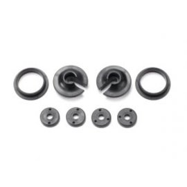 TRAXXAS TRA 3768  Spring retainers, upper & lower (2)/ piston head set (2-hole (2)/ 3-hole (2))