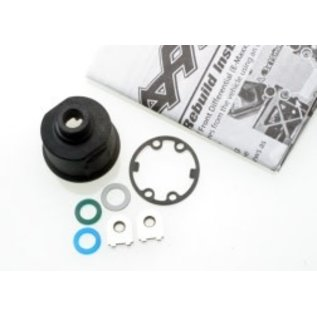 TRAXXAS TRA 3978 Carrier, differential (heavy duty)/ x-ring gaskets (2)/ ring gear gasket/ bushings (2)/ 6x10x0.5 TW