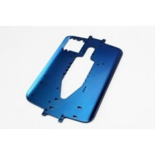 TRAXXAS TRA 5122R Chassis, 6061-T6 aluminum (4.0mm) (blue) (standard replacement for T-Maxx® Classic)