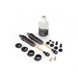 TRAXXAS TRA 4761 Shocks, X-long (hard-anodized & PTFE-coated T6 aluminum) w/o springs (rear) (2)