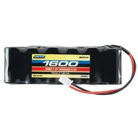 ONX P5169 NiMH 7.2V 1600mAh 2/3A Flat Mini Plug