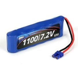LOSI LOS B1209 1100MAH NIMH BATTERY EC2 CONNECTOR 7.2V