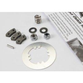 TRAXXAS Rebuild kit, slipper clutch (steel disc/ friction pads (3)/ spring (2)/ 2x9.8mm pin/ 5x8mm MW/ 5.0mm NL (1)/ 4.0mm NL (1))