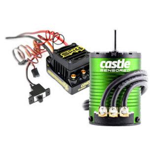 CASTLE CREATIONS CSE010016401 SW4, 12.6V 2A BEC WP SL ESC, 1406-4600 Sens Motor