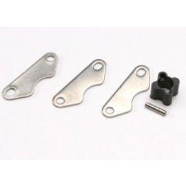 TRAXXAS TRA 5565X Brake disc hub (for Revo® rear brake kit)/ 2mm pin (1)/ brake pads (3) REVO