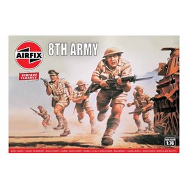 AIRFIX AIR A00709V 8TH ARMY 1/76 MODEL KIT 49 FIGURES