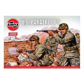 AIRFIX AIR 00751V WW2 US PARATROOPS 1/72 MODEL KIT