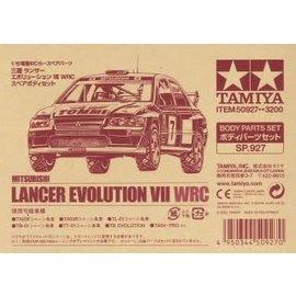 TAMIYA TAM 50927 Lancer Evo VII Body Parts 190MM