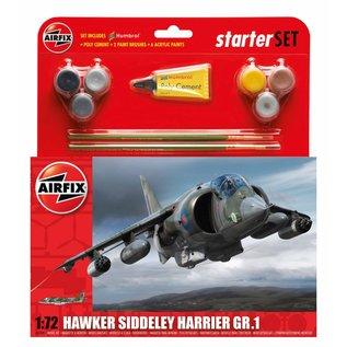 AIRFIX AIR 55205 1/72 Hawker Harrier GR.1 Starter Set