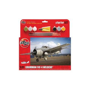 AIRFIX AIR 55214 GRUMMAN F4F-4 WILDCAT COMPLETE MODEL SET