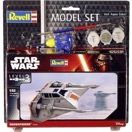 REVELL GERMANY REV 63604 Star Wars SNOW SPEEDER 1/52 COMPLETE MODEL SET