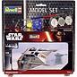 REVELL GERMANY REV 63604 Star Wars SNOW SPEEDER 1/52 COMPLETE MODEL SET