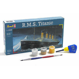 REVELL GERMANY REV 65804 1/1200 TITANIC COMPLETE MODEL SET