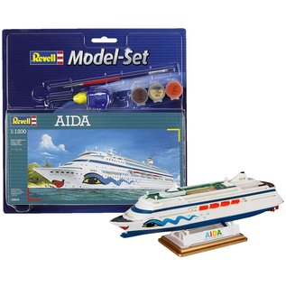 REVELL GERMANY REV 65805 1/1200 Aida COMPLETE MODEL SET