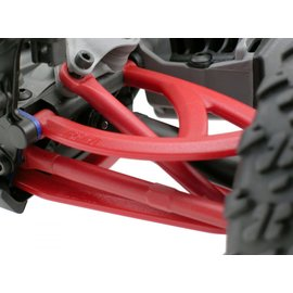 RPM RC PRODUCTS RPM 80609 REAR UPPER AND LOWER A ARM SET RED 1/16 MINI E REVO