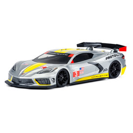 Proline Racing PRO 157425 190MM Chevrolet Corvette C8 CLEAR BODY