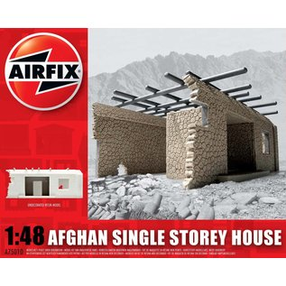 AIRFIX AIR 75010 AFGHAN SINGE STORY HOUSE 1/48 UNDECORATED RESIN MODEL KIT
