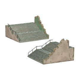 AIRFIX AIR 75017 EUROPEAN CITY STEPS 1/72 UNDECORATED RESIN MODEL KIT