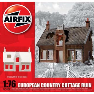 AIRFIX AIR 75004 EUROPEAN COUNTRY COTTAGE RUIN 1/76 RESIN MODEL KIT