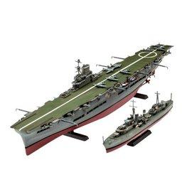 RVL 05149 1/720 HMS Ark Royal/Tribal Class Destroyer