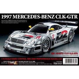TAMIYA TAM 47437 MERCEDES-BENZ CLK-GTR 1997