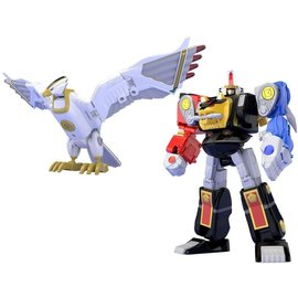 BANDAI BAN 25093 Super Mini Pla Ninja Megazord & White Ninja Falconzord Model