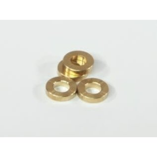 HPI RACING HPI 86121 BRASS WASHER SAVAGE WASHER 5x10x3mm (BRASS/4pcs)