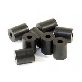 HPI RACING HPI 87058 RUBBER TUBE 3x8x10mm (SHAPED/BLACK/8pcs) SAVAGEX/XL