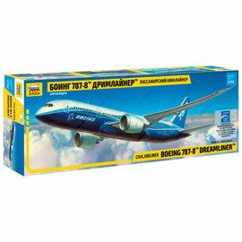 ZVEZDA ZVE 7008 1/144 Boeing 787-8 Dreamliner MODEL KIT