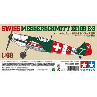 TAMIYA TAM 25200 SWISS MESSERSCHMITT BF109 E-3 1/48 MODEL KIT