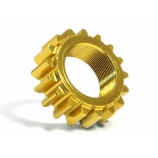 HPI RACING HPI 76977 ALUMINUM THREADED PINION GEAR 17Tx12mm (1M)  For #86038 2 SPEED TRANSMISSION (NITRO 3) RS43
