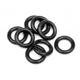 HPI RACING HPI 6811 O-RING 6x9.5x2mm (BLACK/8pcs)  Diff Shaft for Savage