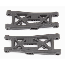 Team Associated ASC 91674 RC10B6 Front Suspension Arms, gull wing, hard