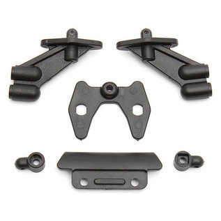 Team Associated ASC 91531 wing/body/bumper mount set B5M