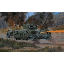 AIRFIX AIR A02321V CHURCHILL CROCODILE 1/76 MODEL KIT