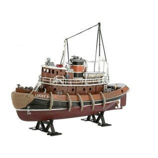 REVELL GERMANY REV 05207 1/108 HARBOUR TUG BOAT MODEL KIT