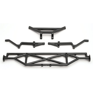 Team Associated ASC 9817 REAR BUMPER/BRACE SC10 SERIES