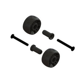 ARRMA ARA 320420 WHEELIE BAR WHEELS GRANITE SENTON TYPHON 4X4