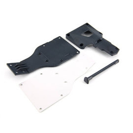 ARRMA ARA 320204 ALUMINUM LOWER PLATE GRANITE FURY RAIDER 2WD
