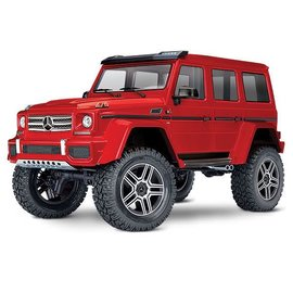 TRAXXAS TRA 82096-4-REDU MERCEDES BENZ G500 TRX4 READY TO RUN RED
