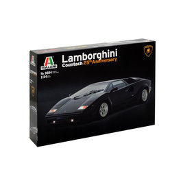 ITALERI ITA 3684 1/24 Lamborghini Countach 25th Anniversary 1/24 MODEL KIT