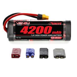 Venom Racing VNR 1546 DRIVE 7.2V 4200mAh NiMH Battery with UNI 2.0 Plug