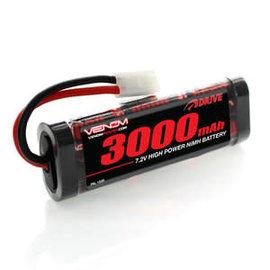Venom Racing VNR 1539 DRIVE 7.2V 3000mAh NiMH Battery with Tamiya for