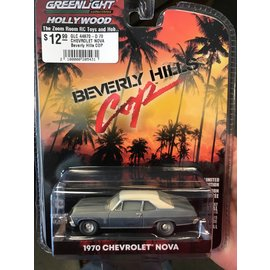 GREENLIGHT COLLECTABLES GLC 44870-D 70 CHEVROLET NOVA Beverly Hills COP 1/64 DIECAST